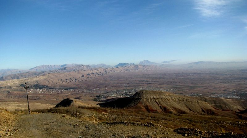The Koya Valley from atop Radar Hill 1